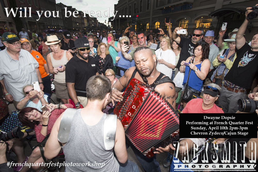 Dwayne Dopsie and the Zydeco Hellraisers....a FORCE to be reckoned with!