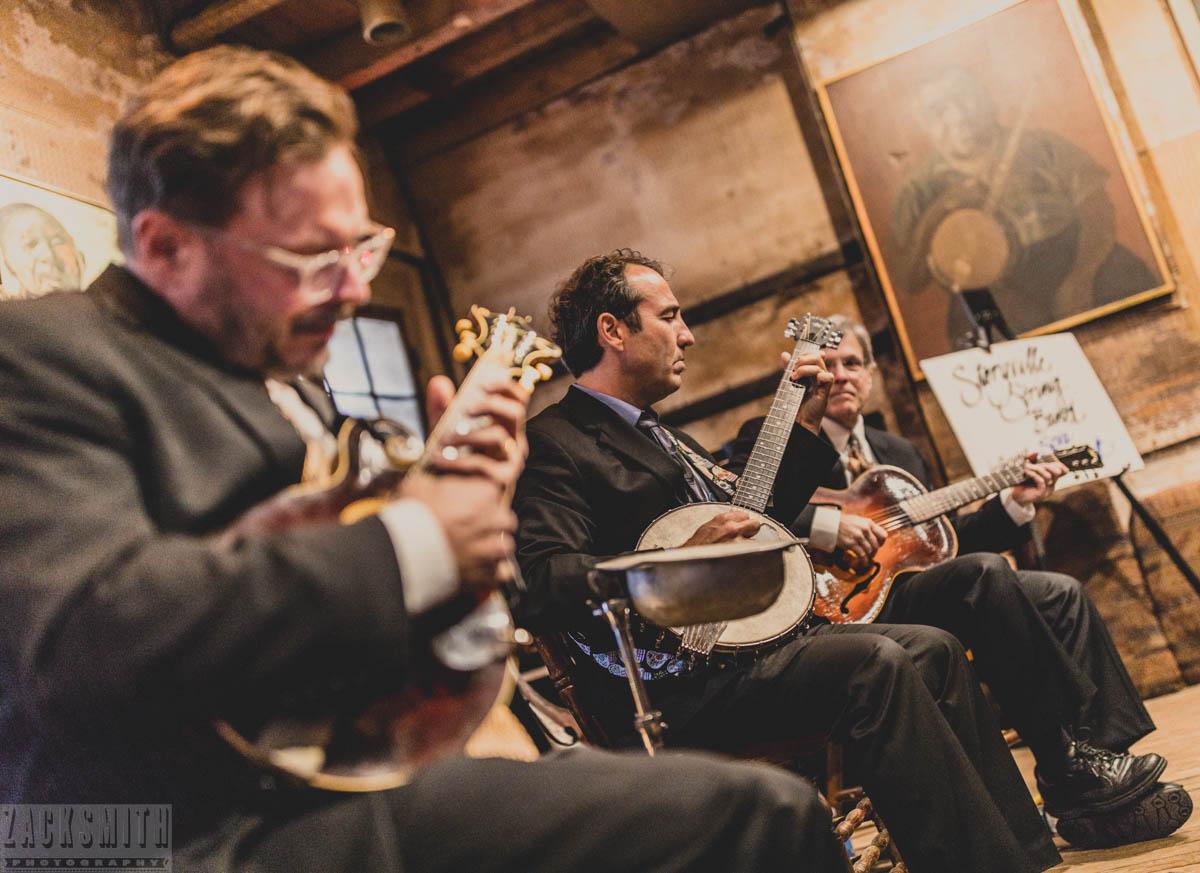 Storyville String Band with Seva Venet at Preservation Hall. ©ZSP